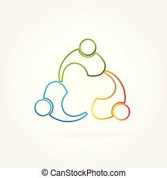 partenaires, collaboration, business, logo