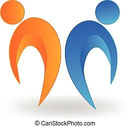 partenaires, logo
