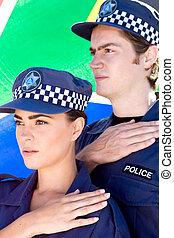 partenaires, police