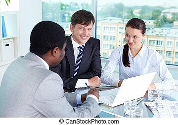 partenaires, réunion