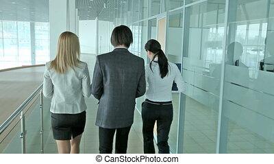 partenaires, trois, business