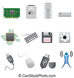 partes computador, e, hardware
