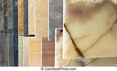 partes, incorporado, mármore