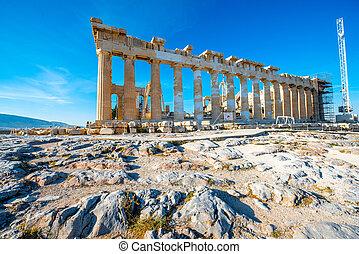 parthenon, アクロポリス, 寺院
