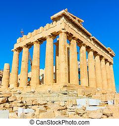parthenon, アテネ, 寺院