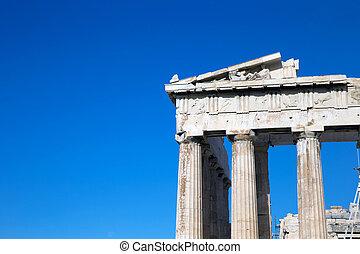 Parthenon, 衛城, 雅典