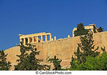parthenon, acropolis, athene, griekenland