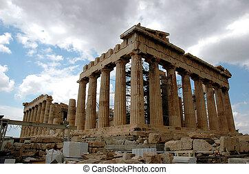Parthenon at Athens Acropolis