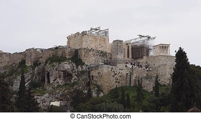 Acropolis - Parthenon, Athenian Acropolis, Athens, Greece
