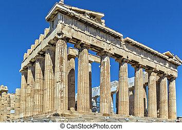 Parthenon, Athens - The Parthenon is a temple on the...