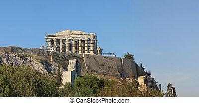 Parthenon Construction