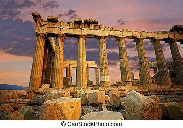 parthenon, grecia