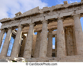 parthenon - Greece: Parthenon close up in the acropolis