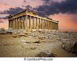 Parthenon Greek temple