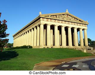 Parthenon in Nashville, TN - Early morning at the Parthenon...