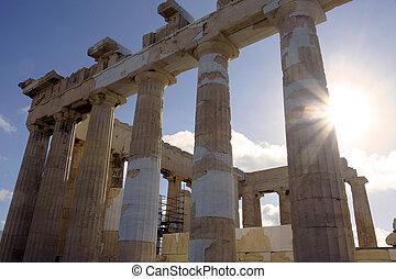 Parthenon of the Acropolis