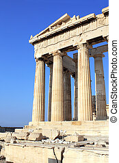 Parthenon on the Acropolis, Athens, Greece - Parthenon on...