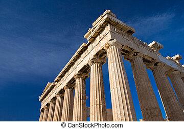 Acropolis in Athens - Parthenon on the Acropolis in Athens, ...