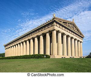 Parthenon Replica at Centennial Park in Nashville,...