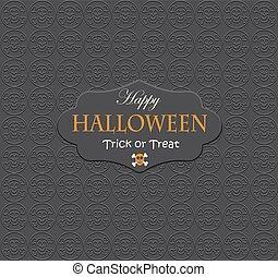 parti, halloween, bakgrund, night.