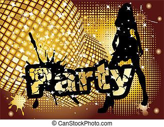 partia, tło
