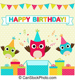 partia, urodzinowa karta