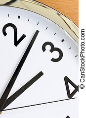 Partial view of the clock for concept background.