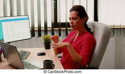 participer, employé, webinar