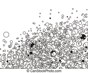 particle background - Colourful particle background, vector...