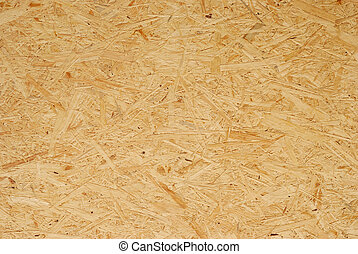Particle Board Background - Fragment of seamless grained...
