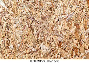 Particle board made from recycled wood