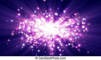 particle explosion dust