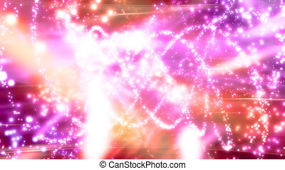 Particle Insanity Looping Animated Background