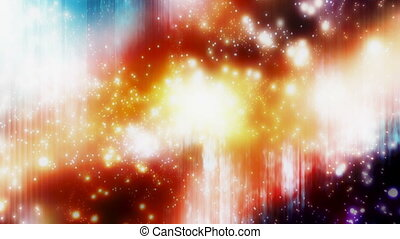 Particle Madness Looping Backdrop - Looping abstract...