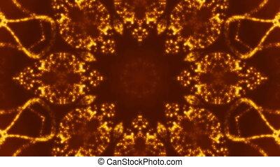 Particle Magic Orange Loop