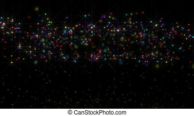 particle rain color
