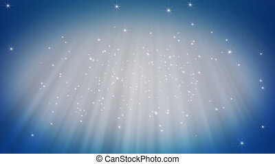 particle snow background