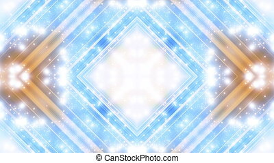 Particle square VJ looping abstract CG animated backdrop