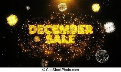 particles., décembre, texte, exposer, feud'artifice, explosion, vente