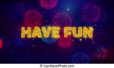 particles., tekst, wybuch, barwny, ftirework, danie zabawa
