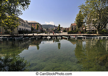 Annecy downtown