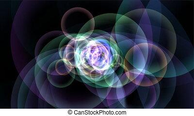 particules, cercle