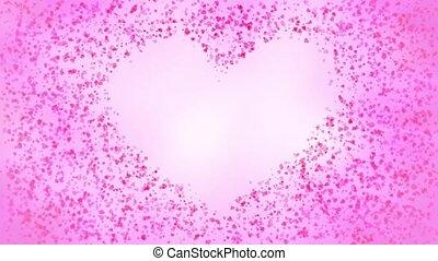 particules, coeur