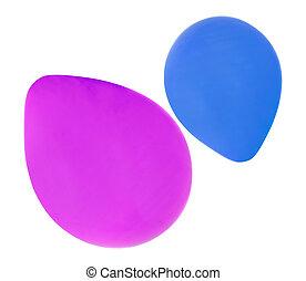 partido aniversário, balões