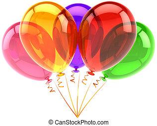 partido, balões, cinco, clássicas