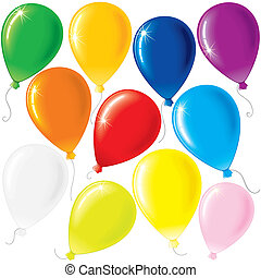 partido, balões