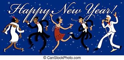 partido de la víspera del año nuevo