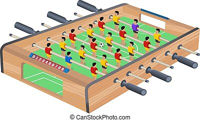 partido de tabla, fútbol