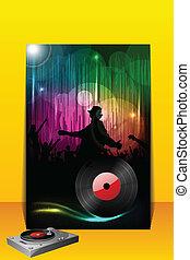 Partido,  DJ, cartaz