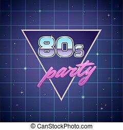 partido, eighties, fundo